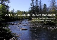 2011-12 Graduate Student Handbook - College of Arts and Science ...