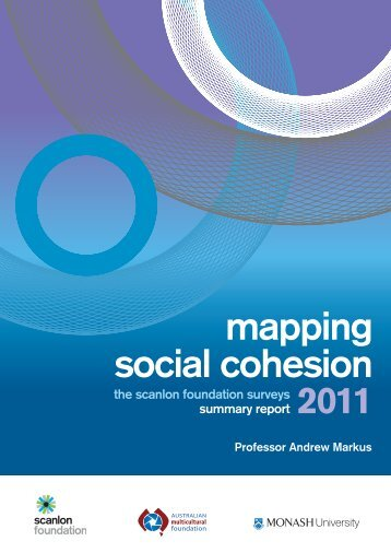 (2011), Mapping Social Cohesion - Arts - Monash University