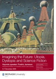 Imagining the Future: Utopia, Dystopia and Science Fiction program