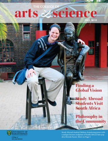 Download the magazine - College of Arts and Science - University of ...