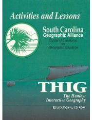 The Hunley Lesson Plan Book - College of Arts and Sciences ...