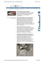 Seite 1 von 3 Der Grasfrosch quakt wieder - Vorarlberg-Magazin ...