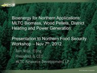 Voss_econdev and biomass - College of Arts and Science