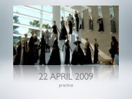 22 APRIL 2009