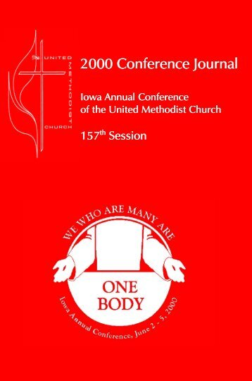 2000 Iowa Conference Journal