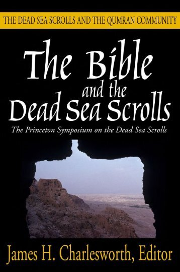 the-bible-and-the-dead-sea-scrolls