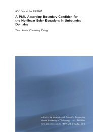 A PML Absorbing Boundary Condition for the Nonlinear Euler ...