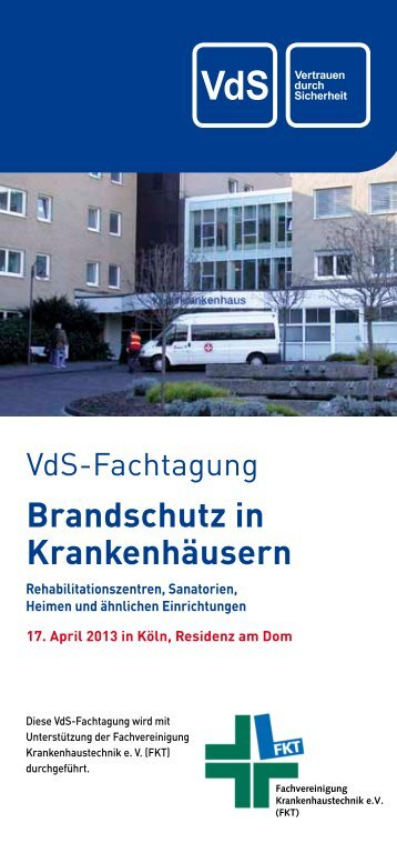 Brandschutz in Krankenhäusern - Asecos GmbH