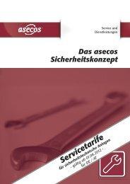 Service-Preisliste für DE/AT (PDF) - Asecos GmbH