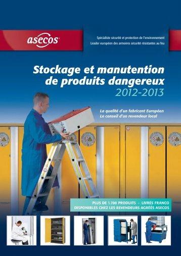 Stockage et manutention de produits dangereux 2012-2013, 28MB