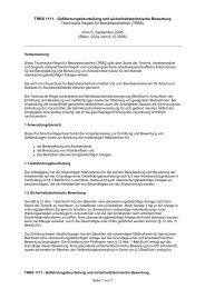 TRBS 1111 - Gefährdungsbeurteilung und sicherheitstechnische ...