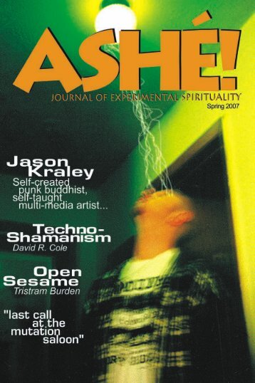 Table of Contents - Ashé Journal