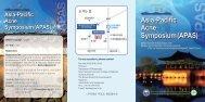 Asia-Pacific Acne Symposium (APAS)