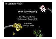 Model-based testing - Summer School Marktoberdorf
