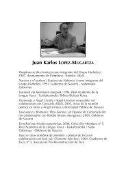 Juan Karlos LOPEZ-MUGARTZA - Asociación Navarra de ...
