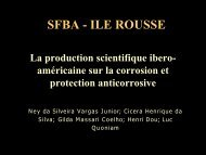 SFBA - ILE ROUSSE - CRRM