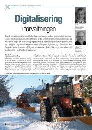 Dansk Vejtidsskrift 2008/09 Digitalisering i forvaltningen (247
