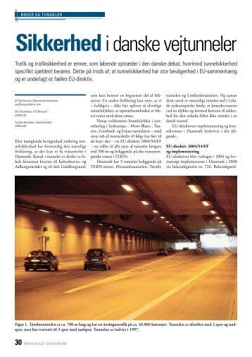 Dansk Vejtidsskrift 2010/02 Sikkerhed i danske vejtunneler