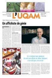 Édition du 31 mars 2008 - Journal L'UQAM