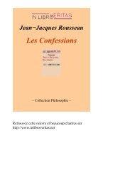 Les Confessions - Biblioteca Digital da PUC-Campinas