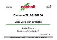 Die neue TL AG-StB 06 Was wird sich ändern? - André Täube