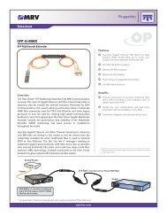 SFP-G-MMX - MRV Communications