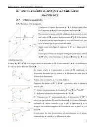 32.- Sistema diédrico-Distancias