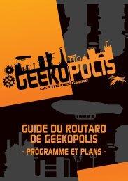 Programme complet - Geekopolis
