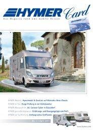 Nr. 1 | April 2011 Das Magazin rund ums mobile Reisen