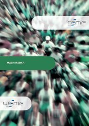 Brochure MACH Radar (Only available in French) - Temps Media