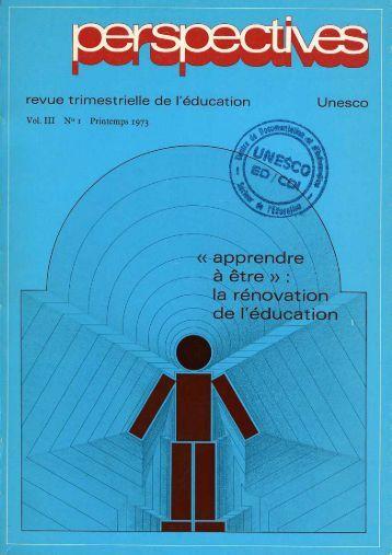 Orientations et structure du nouveau ... - unesdoc - Unesco