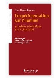 L'expérimentation sur l'homme - sante-recherche.fr site de travail d ...