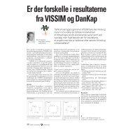 Er der forskelle i resultaterne fra VISSIM og DanKap - Dansk ...
