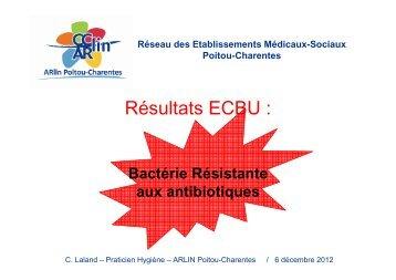 Résultats ECBU - CLIN Sud-Ouest