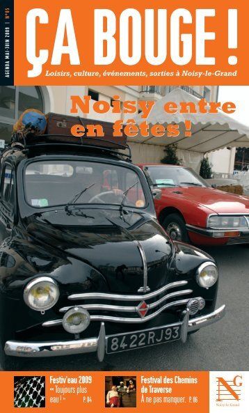 Ca-bouge_05_Mai-2009.pdf - Ville de Noisy-le-Grand