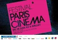 download film guide (PDF) - Paris Cinéma