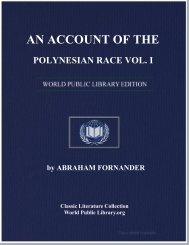 an account of the polynesian race vol. i - World eBook Library