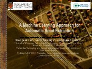A Machine Learning Approach for Automatic Road Extraction - asprs