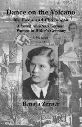 Dance on the Volcano, A Teenage Girl in Nazi ... - The Book Locker