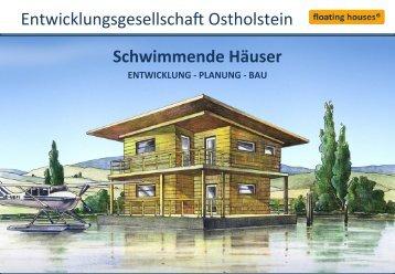 Schwimmende Häuser - E-Formation GmbH