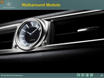 Walkaround Module