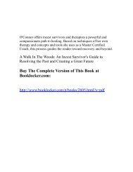 A Walk In The Woods: An Incest Survivor's Guide ... - The Book Locker