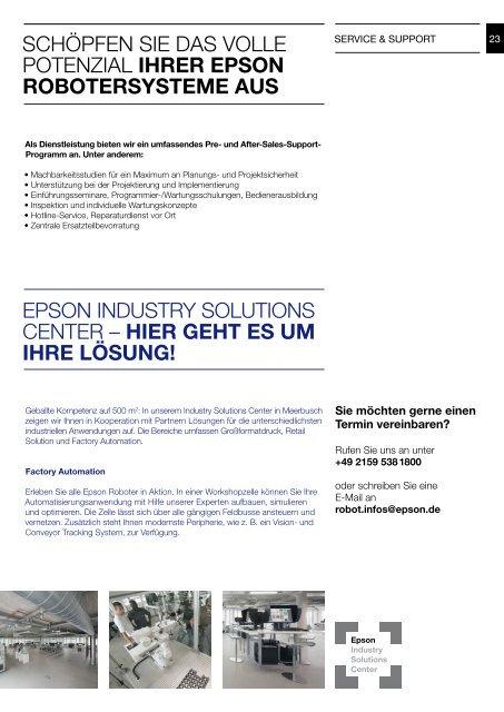 Produktbroschüre - Epson Europe
