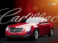 For over 100 years, cadillac has been the