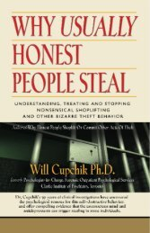 WHY USUALLY HONEST PEOPLE STEAL - The Book Locker