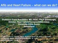 Professor Frank Ruschitzka, MD, FESC, FRCP