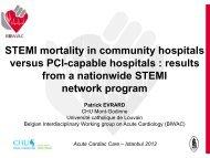 STEMI mortality in community hospitals versus PCI-capable ...