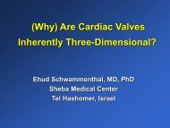 (Why) are cardiac valves inherently three-dimensional? - European ...