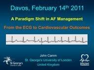 Davos 2011 - A paradigm Shift in AF managment - Camm