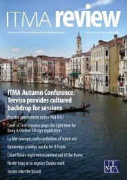 ITMA Autumn Conference: Treviso provides cultured backdrop for ...
